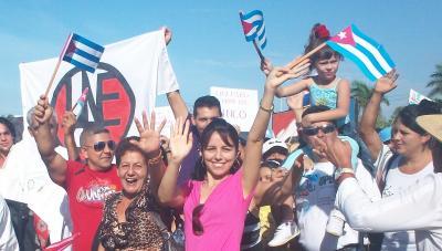 Cuba: día del trabajo en Las Tunas, alegría de pueblo