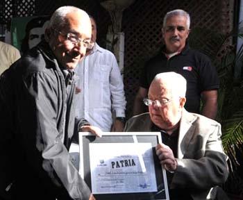 """""""Periódico Patria"""": como un premio a la obra de mi vida"""