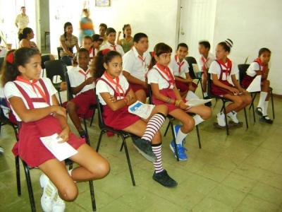 Niños cubanos se fundan en la oratoria martiana