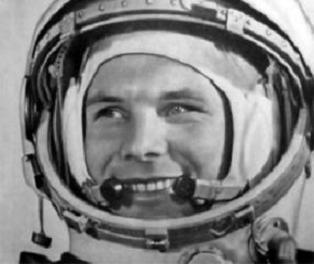 Gagarin: la imagen  del amigo de Cuba